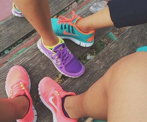 colorful, running, and cute image