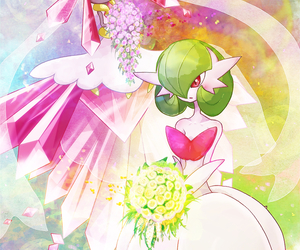 pokemon, gardevoir, and mega evolution image