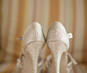 glitter, heels, and high image