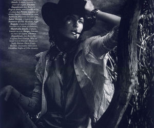 vogue paris, David Sims, and Isabeli Fontana image