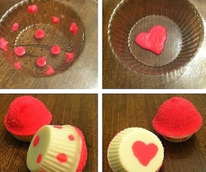cake, diy, and red image