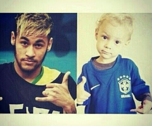 fashion, hair, and neymar image