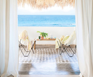 balcony, relax, and sea image