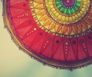 colour and mandala image