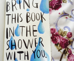 shower, wreck this journal, and WTJ image