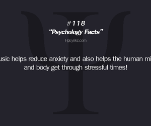 music, facts, and psychological image
