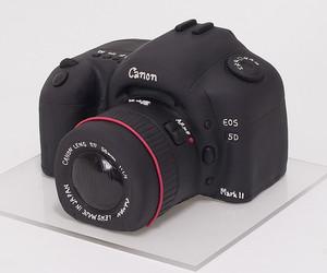 cake, camera, and canon image