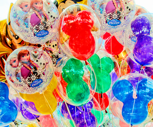 balloons, disney, and anna image
