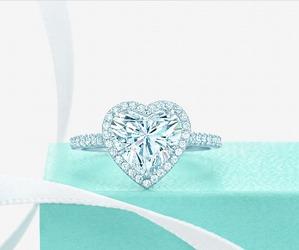 diamond, heart, and jewelry image