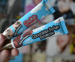 lip balm, chocolate, and tumblr image