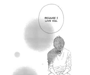 manga, hirunaka no ryuusei, and confession image