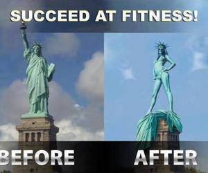 fitness, funny, and lol image