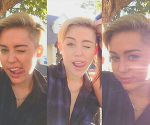 miley cyrus and sweet image