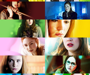 doctor who, dw, and karen gillan image