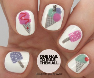 ice cream and nails image