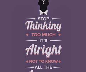 quote, thinking, and answer image