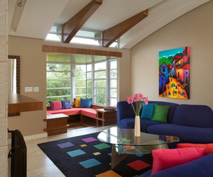 artistic, colorful, and dream house image