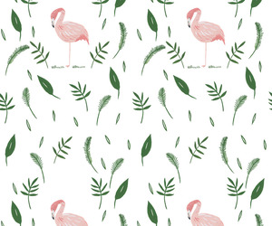 wallpaper, background, and flamingo image