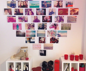 room, diy, and heart image