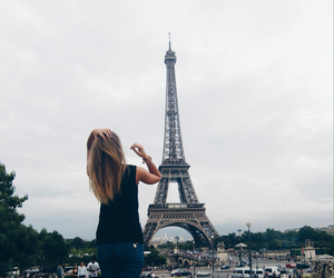 blonde, paris, and summer image
