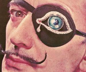 dali, salvador dali, and eye image