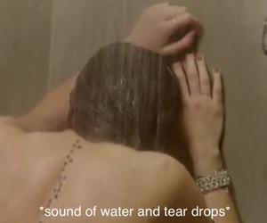beauty, tear, and water image