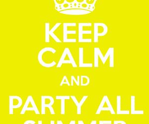 party and summer image