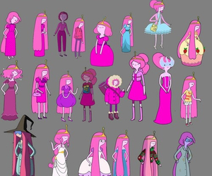 adventure time, princess bubblegum, and pink image