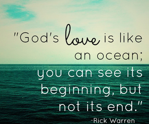 god, love, and ocean image