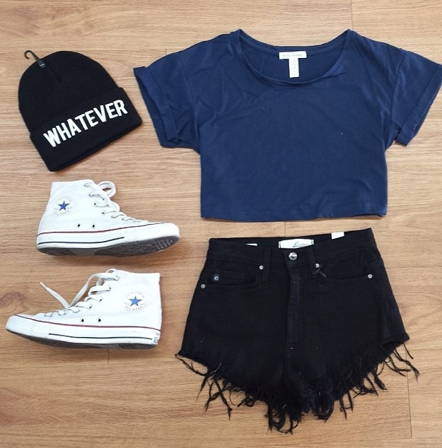 beanie, converse, and hipster image