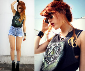 anarchy, ginger, and glasses image