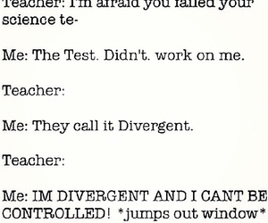 funny and divergent image
