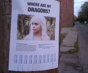 dragon, game of thrones, and funny image