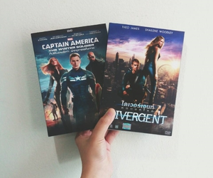 captain america, dvd, and movie image
