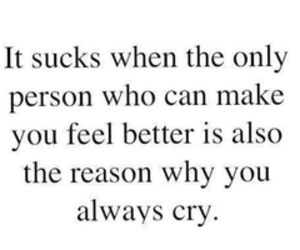 girl, boy, and cry image
