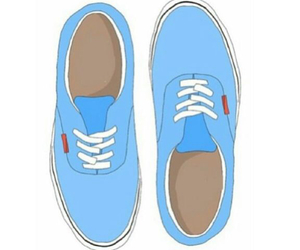 vans, transparent, and blue image