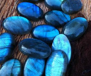 blue and stone image