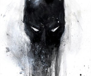 batman, art, and black image