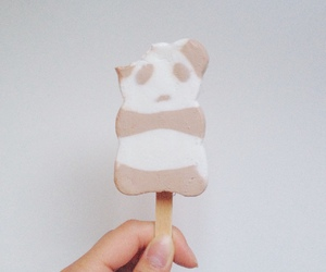 ice cream and panda image