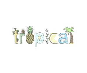 tropical, overlay, and summer image
