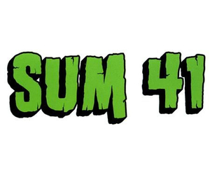green, Logo, and sum 41 image