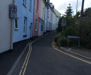 colour, Houses, and teignmouth image