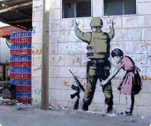 BANKSY and street art image
