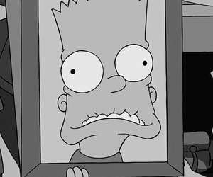 funny, bart, and simpsons image