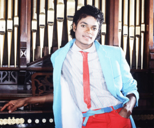 beautiful, pop, and king of pop image