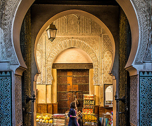 culture, morocco, and fez image