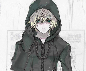 roxas, kingdom hearts, and anime image