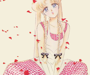 lolita, red, and sailor moon image