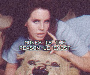lana del rey, money, and national anthem image