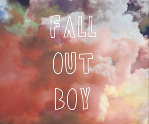 bands, fall out boy, and FOB image